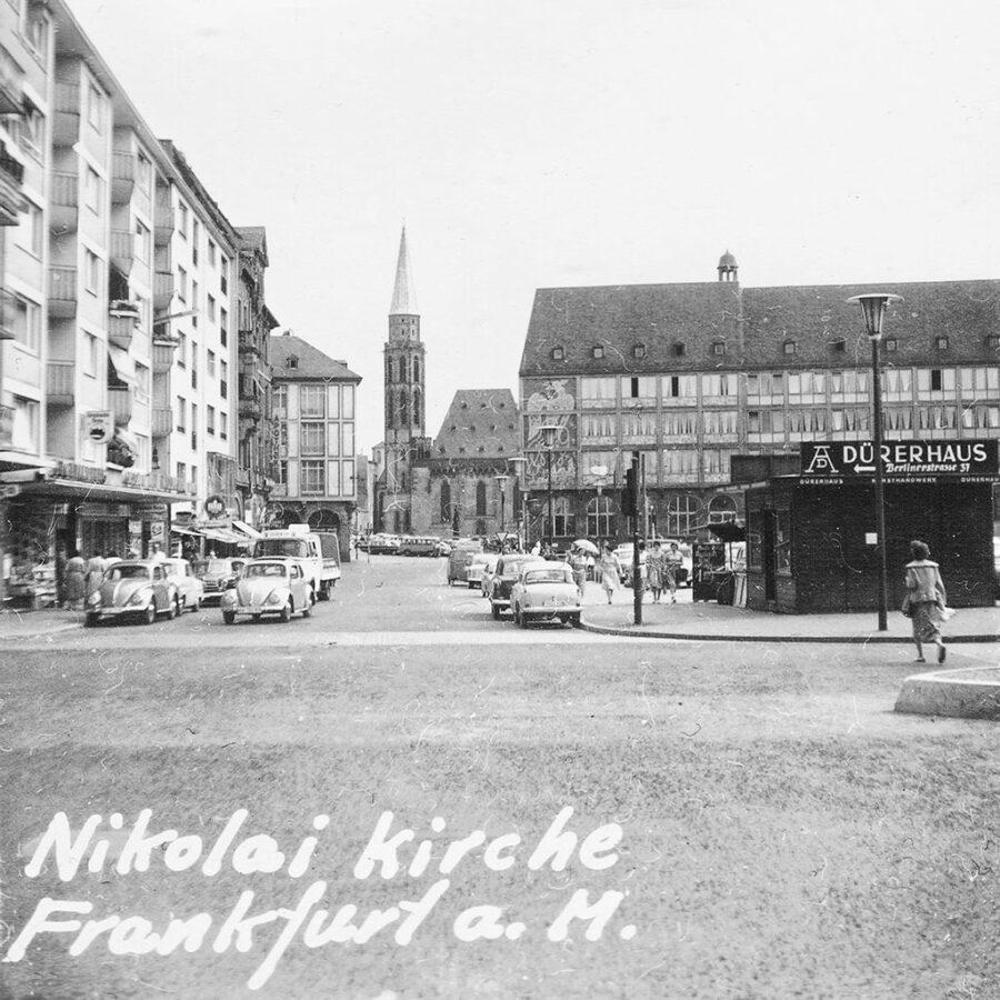 Nikolai Kirche i Frankfurt am Main.