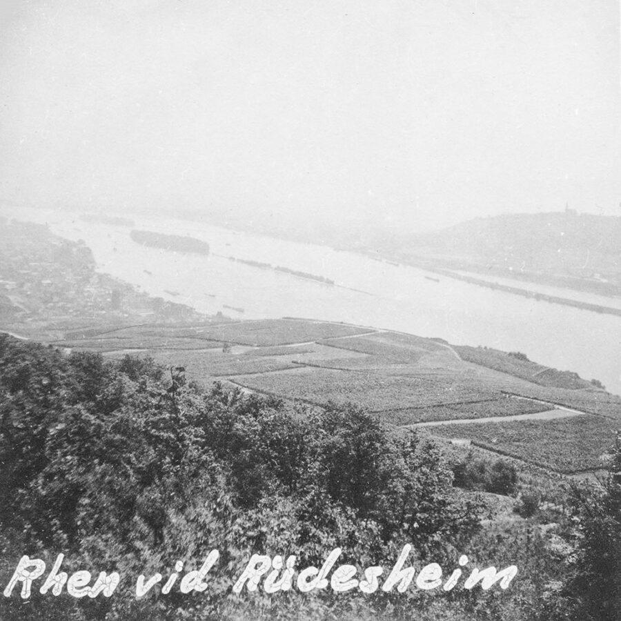 Utsikt över Rhendalen