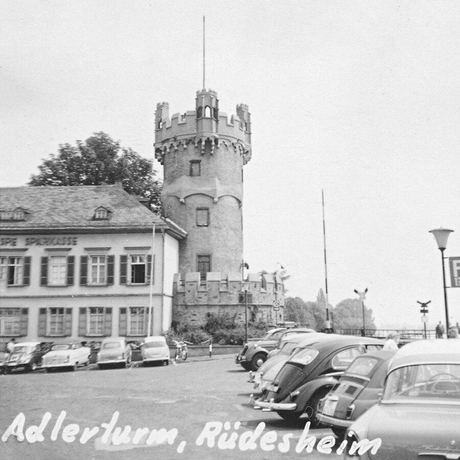 Adlerturm i Rüdesheim.