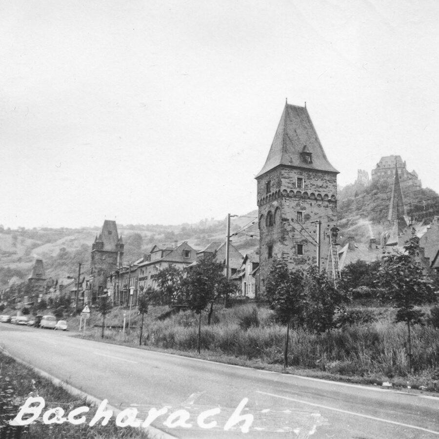 Bacharach vid Rhen