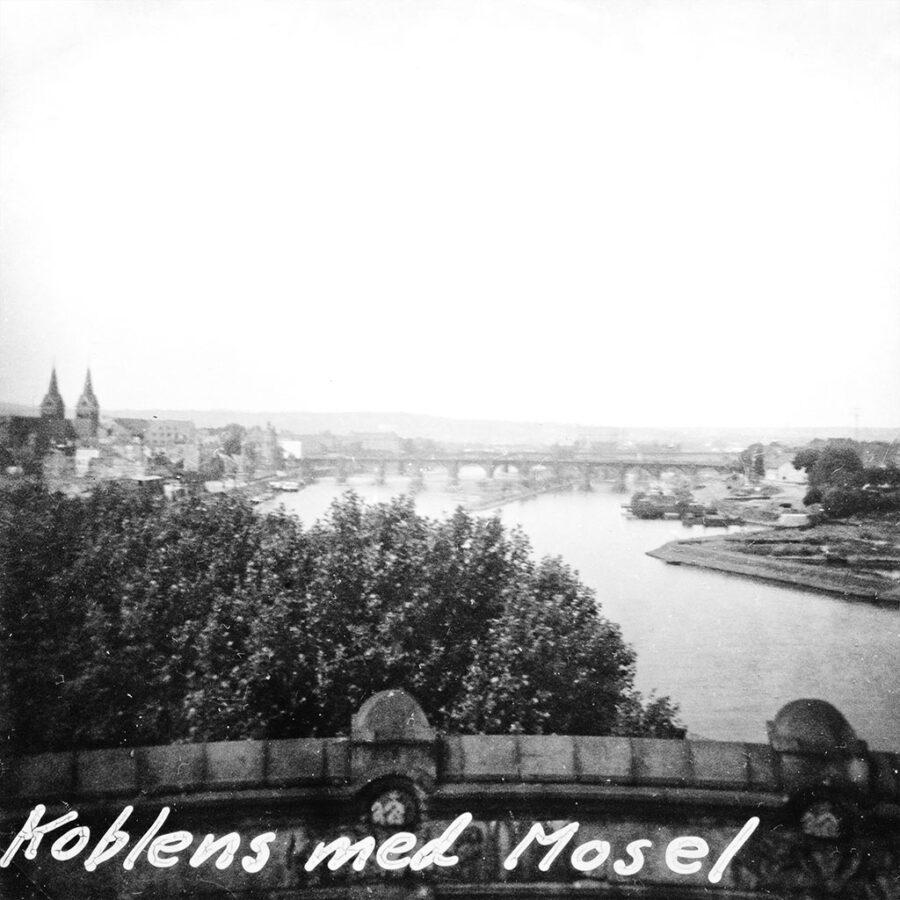 I Koblenz mynnar Mosel i Rhen.