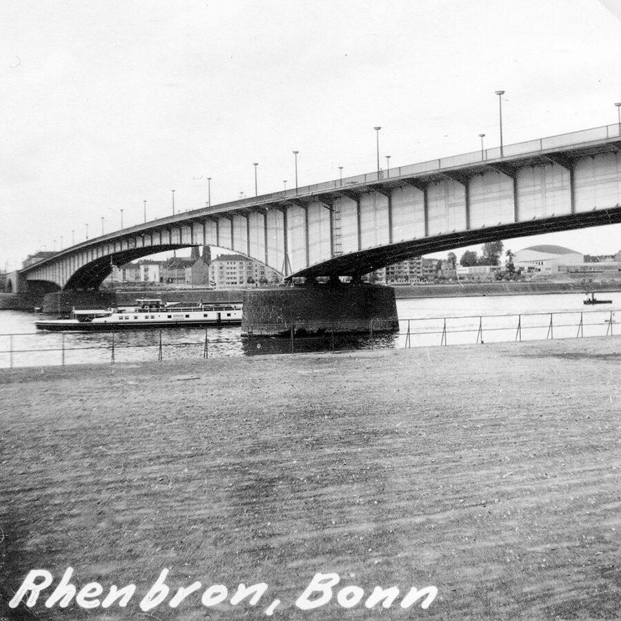Bron över Rhen.