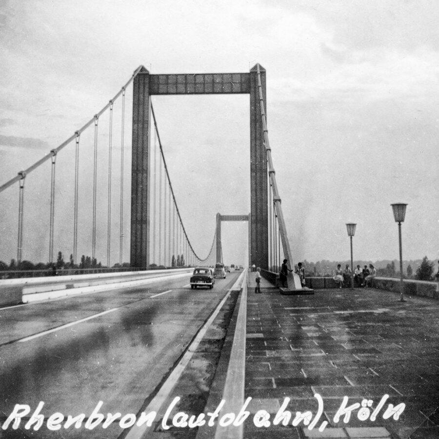 Motorvägsbron över Rhen vid Köln