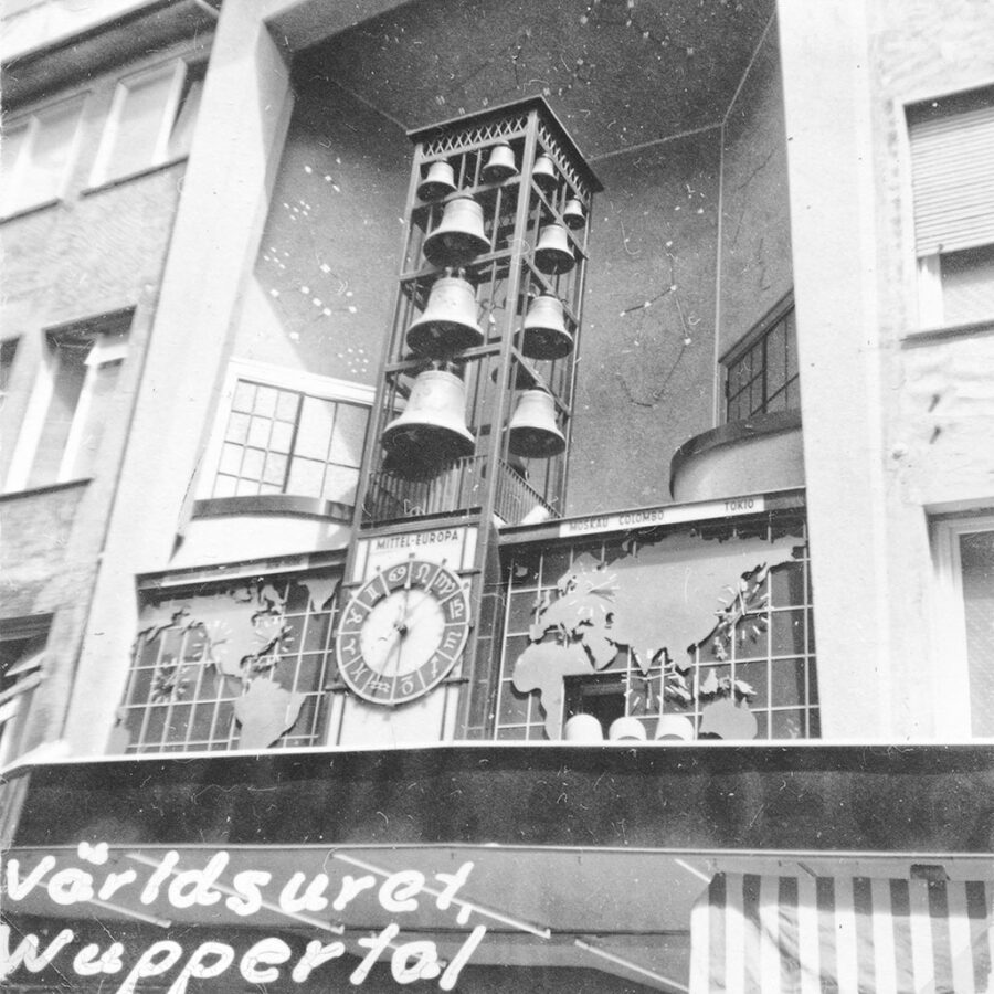 Världsuret i Wuppertal.
