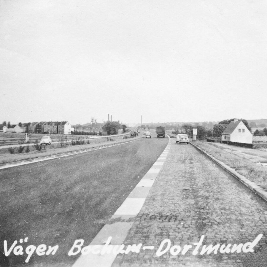 Vägen mellan Bochum och Dortmund.