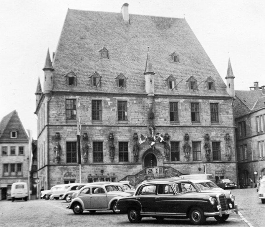 Det gamla rådhuset i Osnabrück.