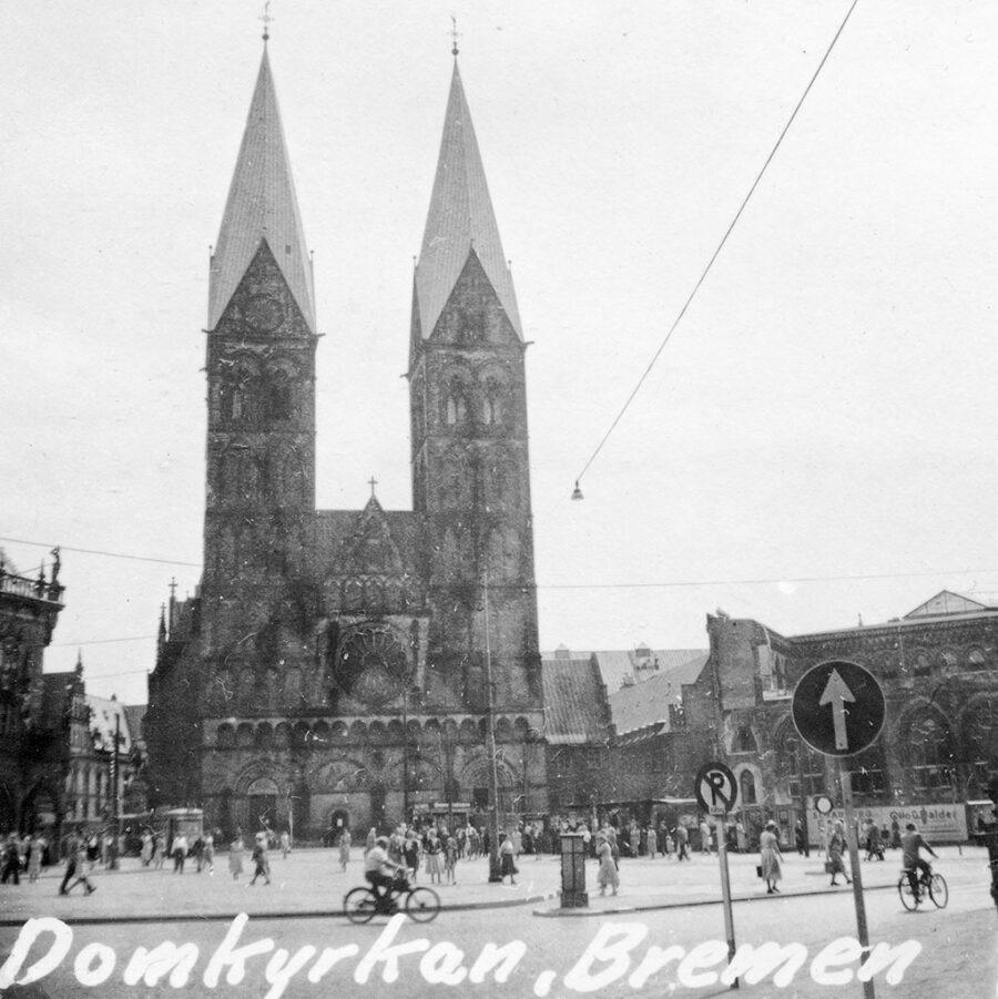 Domkyrkan i Bremen.