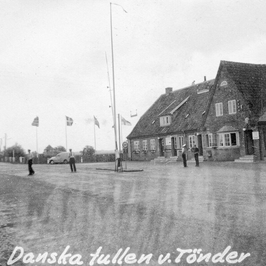 Den danska tullen vid tysk-danska gränsen.