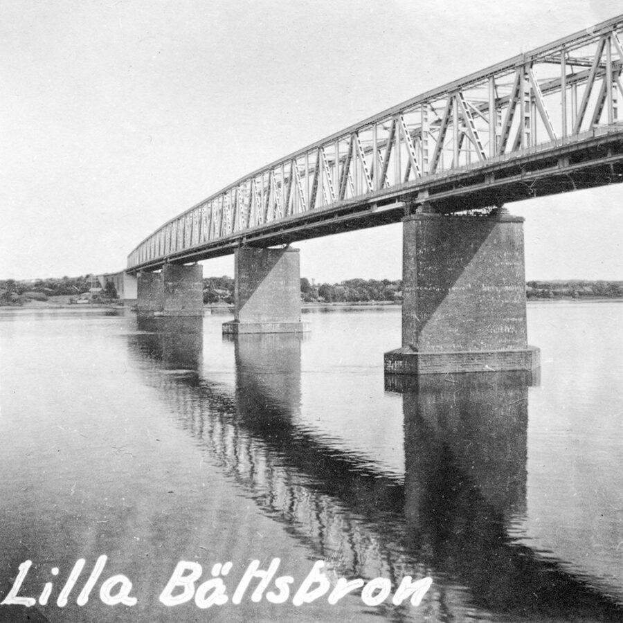Bron över Lilla Bält förde oss från Jylland till Fyn.