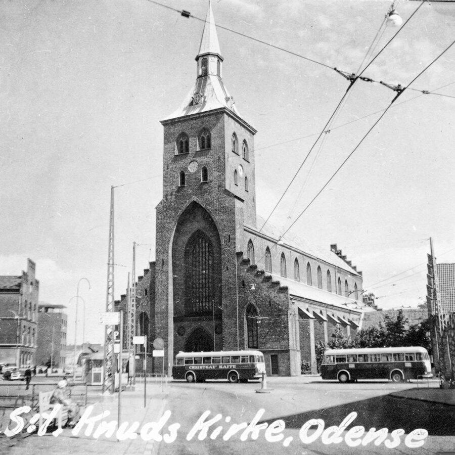 S:t Knuds Kirke i Odense.