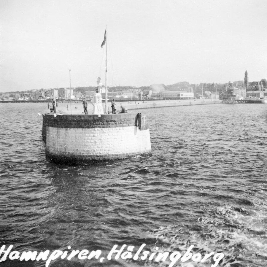 Hamnpiren i Helsingborg.