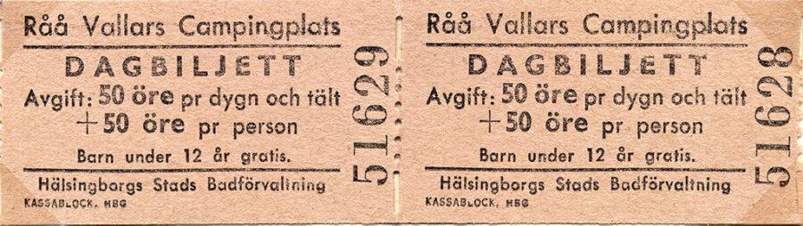 Vi for raka vägen ut till Råå Vallar där vi övernattade.