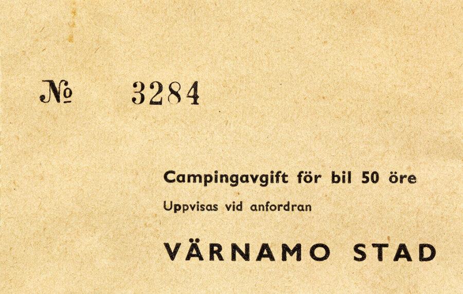 Från Malmö for vi raka vägen till Värnamo där vi övernattade.för sista gången denna resa.
