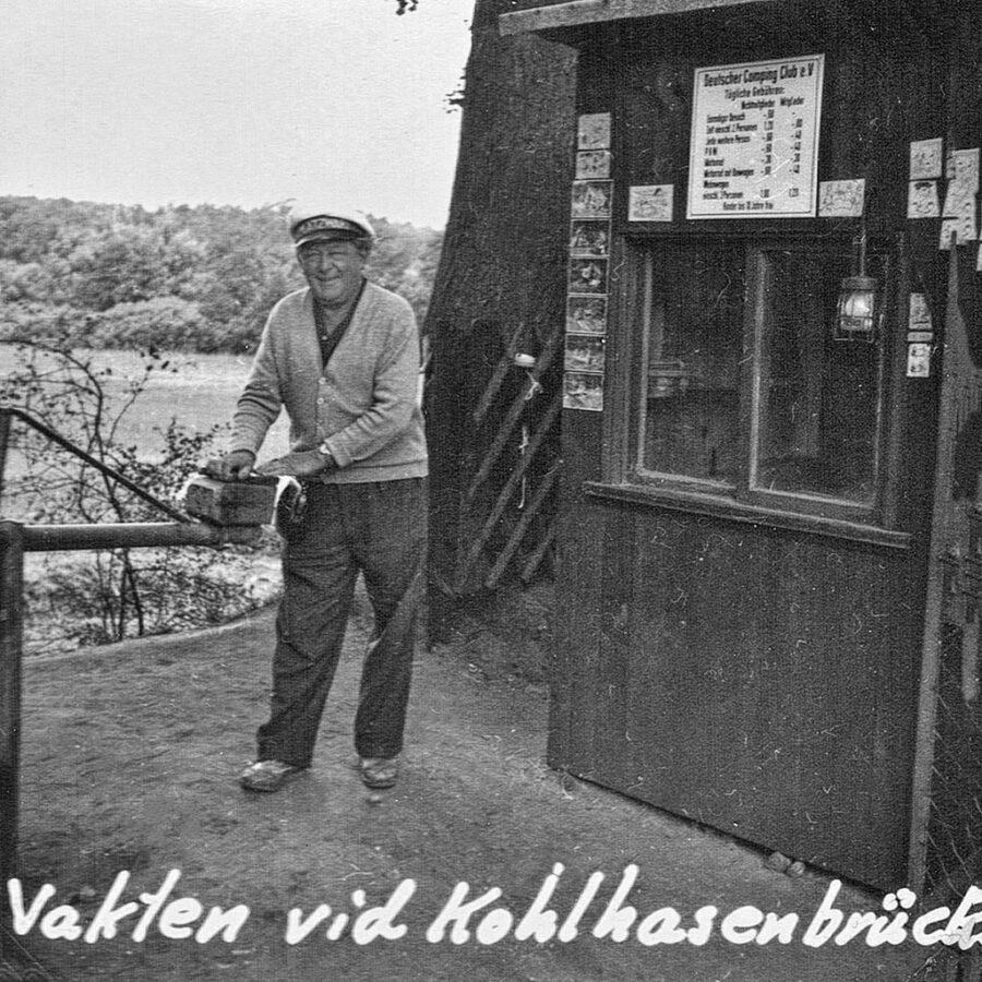 Vakten vid Kohlhasenbrücks camping.