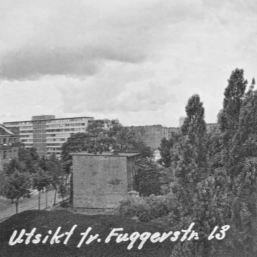 Utsikt över Väst-Berlin.
