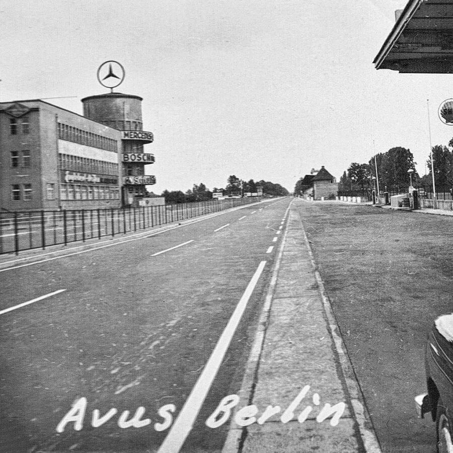 Avusbahn var en del av motorvägen, som användes för racertävlingar.