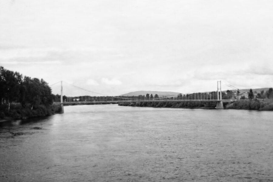 Bron över Glomma i Elverum.