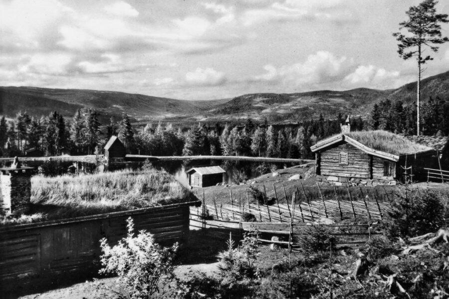 Setergrenda på Majhaugen utanför Lillehammer.