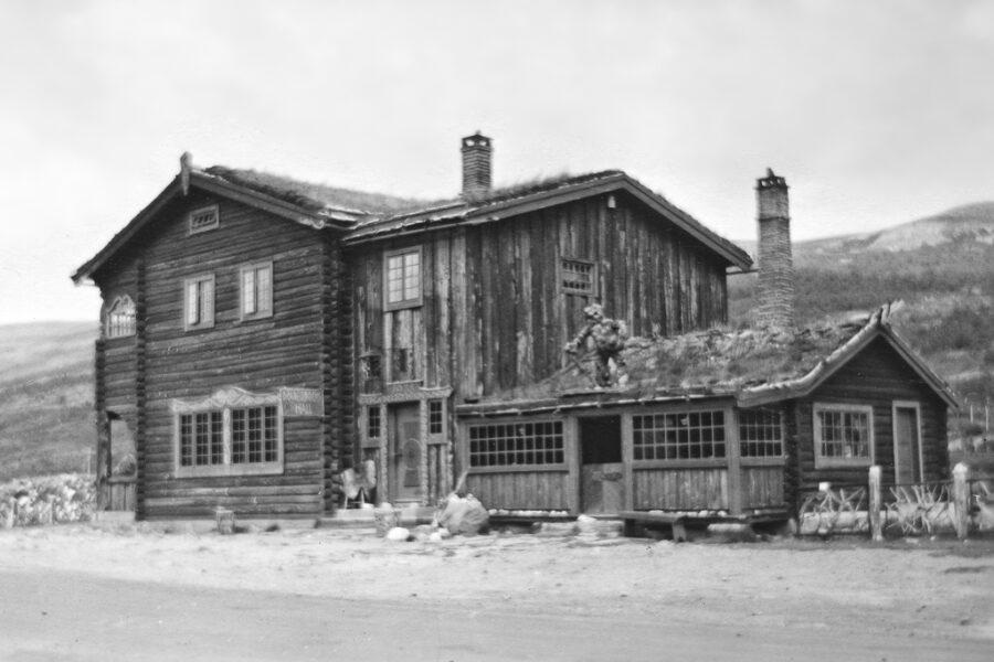 """""""Dovregubbens hall"""" på Dovrefjell."""