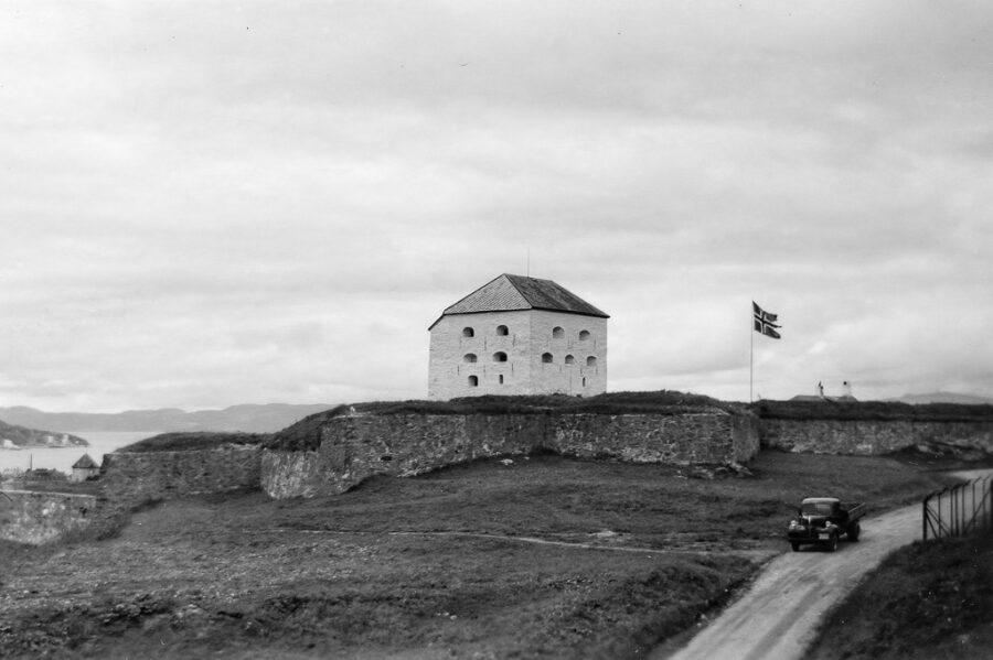 Cristianstens fästning i Trondheim.