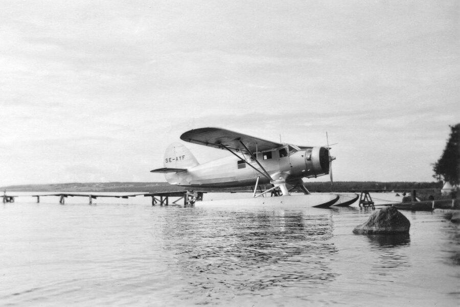 Sjöflygplan vid Göviken, Östersund.