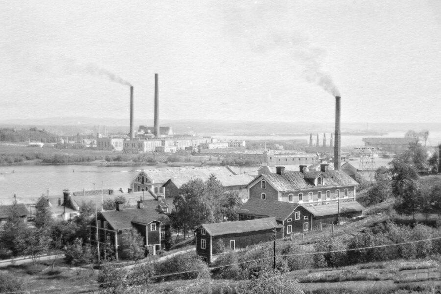 Östrands fabriker i Timrå.