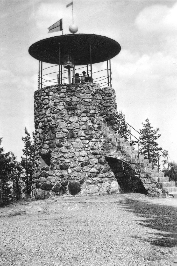 Utsiktstornet på Södra Stadsberget, Sundsvall.