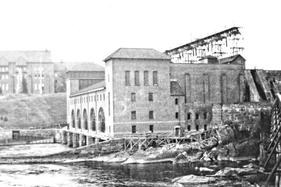 Kraftverket vid Älvkarleby.