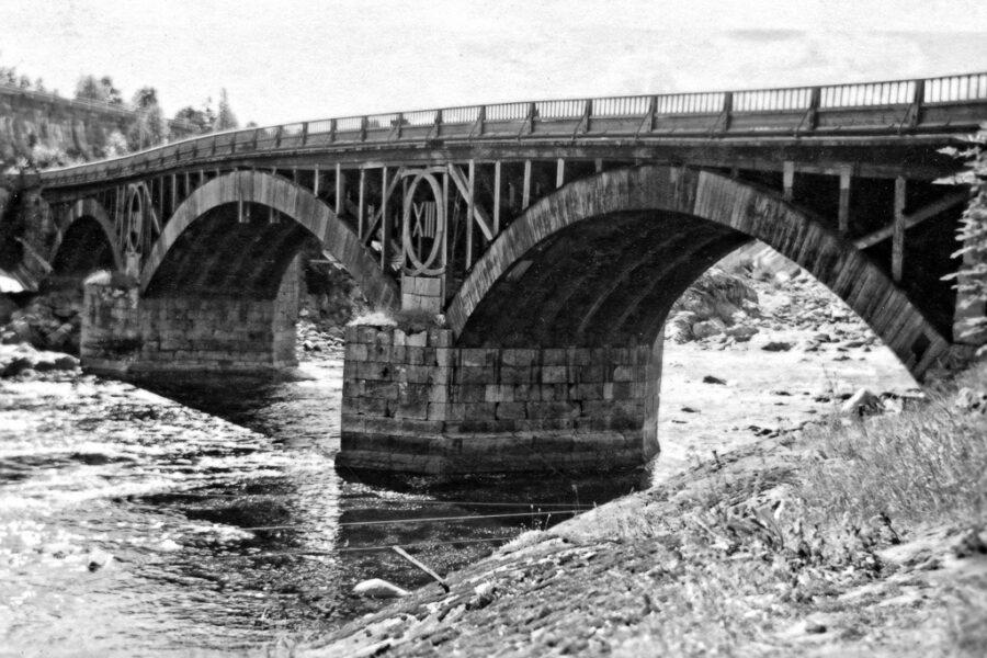 Carl XIII:s bro vid Älvkarleby.