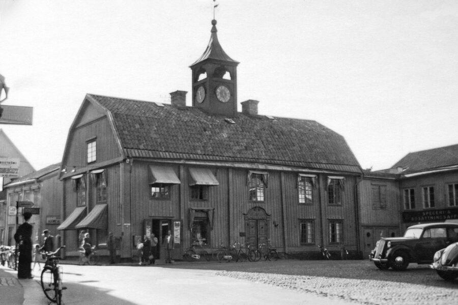 Norrtäljes rådhus.
