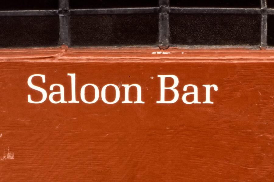 Saloon Bar.