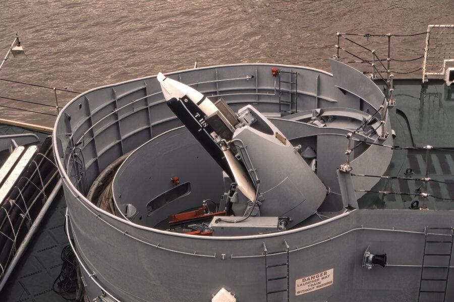 Antiubåtsrobot.