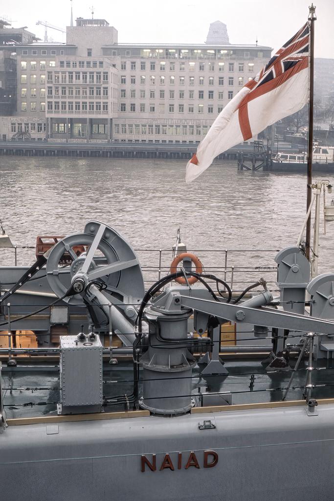 Fregatten Naiad.