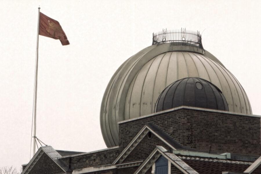 Observatoriekupoler.